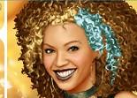 Maquiller Beyonce la chanteuse pour une sortie
