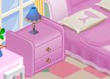 Chambre de petite fille à décorer