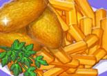 Recette des nuggets au poulet frites