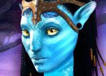 Relooking de Neytiri la fille d'Avatar