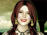 Maquillage d'Ashley Greene