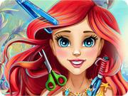 Coiffeuse visagiste pour Ariel la petite sirène