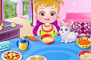 Bébé Hazel cuisinière