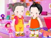 Bébés jumeaux à vêtir