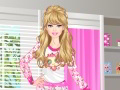 Barbie organise une pyjama party