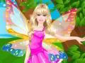 Barbie s'habille en fée ailée
