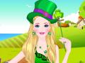 Barbie s'habille pour la Saint Patrick