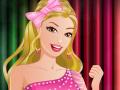 Soirée colorée avec la jolie Barbie