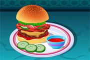 Recette du cheeseburger américain