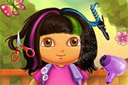 Coiffer Dora l'exploratrice