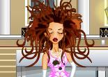 Coupe de cheveux pour mariée décoiffée