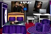 Chambre à coucher de fan de vampires Twilight