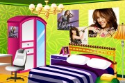 Decorate Room Of Miley Cyrus Fan