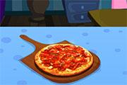 Préparer une pizza au fromage