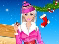 Habillage de Barbie pour l'hiver