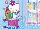 Hello Kitty et sa salle de bain