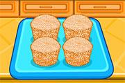Hello Kitty prépare des donuts et des muffins