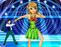 Relooking d'une danseuse de salsa pour un concours