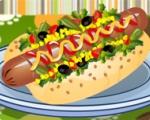 Concocter un Hot Dog américain