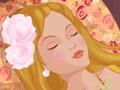 Une princesse endormie attend le baiser du prince charmant