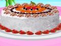 Barbie décore un superbe gâteau au coco