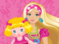 Barbie fait du baby-sitting