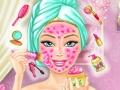 Soin du visage pour Barbie