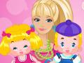 Barbie baby-sitter garde des bébés jumeaux