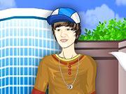 J. Bieber fais du skateboard