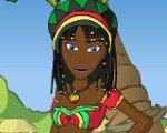 Jamaican Girl Dressup