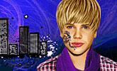 Justin Bieber se tatoue le cou