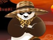 Camoufler et teindre Kung Fu Panda