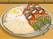 Poulet grillé façon kebab