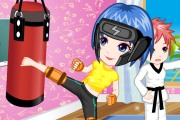 Kickboxing Classes Girl Dress Up
