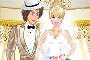 Robe blanche pour épouse princière