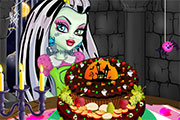 Gâteau aux fruits frais à préparer avec Frankie Stein