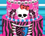 Monster High Wedding Cake