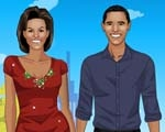Obama Couple Dressup Game