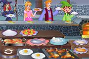 Ouverture d'un restaurant au château
