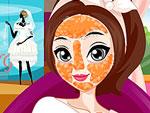 Une future épouse en séance maquillage